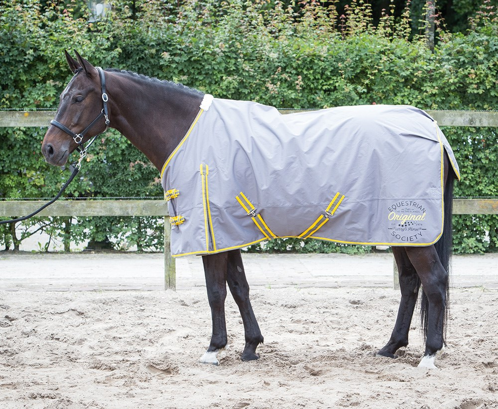 Harry's Horse Outdoorrug Thor 0gr with T-C lining, smoked pearl