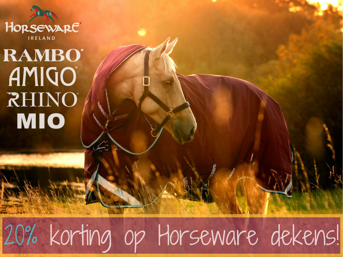 Horseware 20% Korting