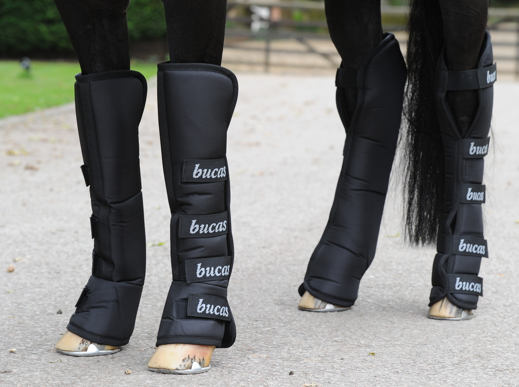 Afbeelding van Bucas 2000 Boots Transportbeschermers Zwart