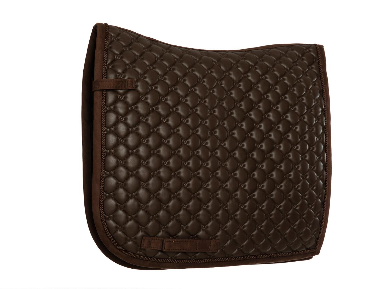 Afbeelding van Equestrian Stockholm dressuur dekje All In Leather Brown