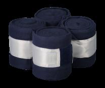 Equito Fleece bandages Navy Shimmer