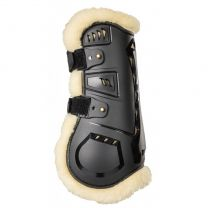 Back on Track AirFlow Tendon Boots met Imitatiebont