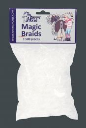 Harry's Horse Magic Braids Transparent manenelastiekjes