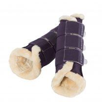 Eskadron Classic AW '18 soft tendon boots faux fur