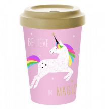 Pfiff Bamboo Believe in Magic reisbeker unicorn