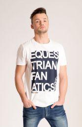 Eskadron Ken heren T-shirt white