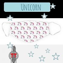 Dreamers & Schemers Unicorn Mondkapje