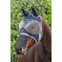 LeMieux Armour Shield vliegenmasker met oren en fringe neus