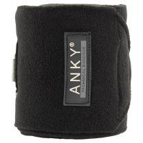ANKY® FW'20 fleece bandages Zwart
