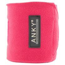 ANKY® FW'20 fleece bandages Fuchsia Red