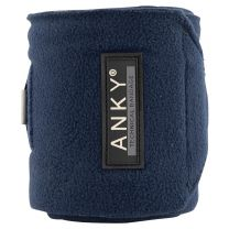 ANKY SS'21 fleece bandages Dark Navy