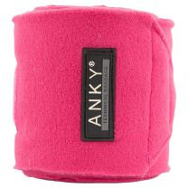 ANKY SS'21 fleece bandages Very Berry