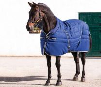 Rambo Cosy Stable Navy with Beige, Baby Blue & Navy 400gr.