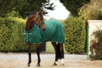 Rambo Stable Sheet Hunter Green/Hunter Green & White