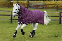 Rhino Pony Plus Medium Vari-Layer Berry/Grey/White check & berry 250gr