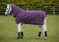 Rhino Pony All-In-One Heavy Vari-Layer Berry/Grey/White check & Grey 400gr