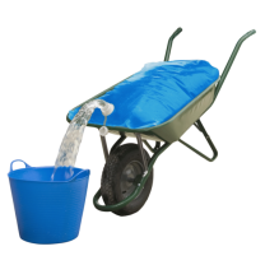 AquaTrans waterzak 80L