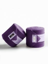 Equestrian Stockholm Lavendel fleece bandages