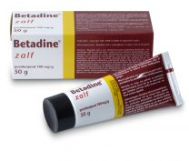 Betadine Zalf 50 gram