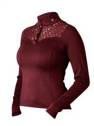 Equestrian Stockholm Bordeaux Champion shirt long sleeve