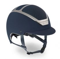 Kask Dogma Chrome Light Navy-Zilver