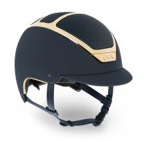 Kask Dogma Chrome Light Navy-Goud