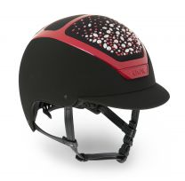 Kask Capsule Collection: Dogma Black Swarovski Pearls Cherry
