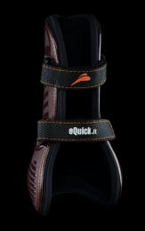 eQuick eShock peesbeschermers met klittenband voor