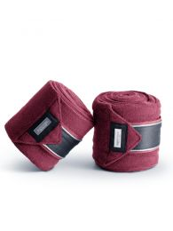 Equestrian Stockholm FW'20 Fleece bandages Winter Rose