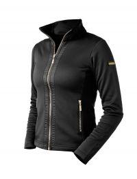 Equestrian Stockholm fleece vest Black Edition Gold FW'19