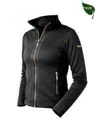 Equestrian Stockholm FW'20 Black Edition Gold fleece vest