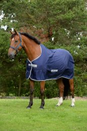 Bucas Freedom Twill Sheet Pony Blauw