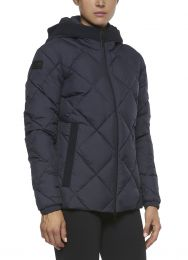 Cavalleria Toscana FW'20 Quilted Nylon Hooded Puffer Fleece Dames Jas