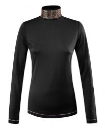 Equiline FW'20 Turtleneck Shirt Glamour