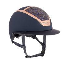 Kask Dogma Chrome Light Everyrose Navy Swarovski Midnight Amethyst Special Edition