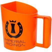 Imperial riding voerschep halfrond 1,5Ltr oranje
