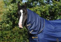 Bucas Irish Turnout Combi Neck Blauw 300 gr.