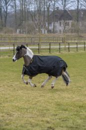Bucas Irish Turnout Pony Light Zwart