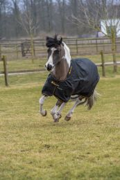 Bucas Irish Turnout Pony Extra Zwart