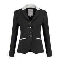 Juuls Zwart Glamour wedstrijdjasje met zilveren details