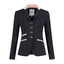 Juuls Navy Glamour wedstrijdjasje met rosegold details