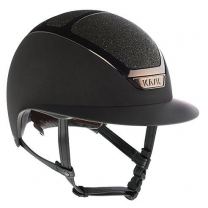Kask Star Lady Swarovski Carpet Zwart