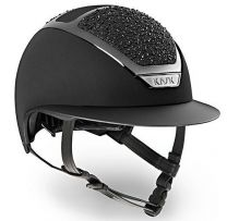 Kask Star Lady Swarovski on the Rocks Zwart