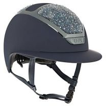 Kask Star Lady Swarovski on the Rocks Navy