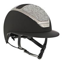 Kask Star Lady Swarovski on the Rocks Zwart/Zilver