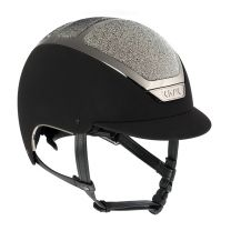 Kask Dogma Chrome Light Swarovski Carpet Zwart/Zilver