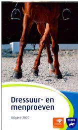 KNHS Dressuur- en Menproevenboekje Editie 2020