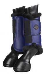 LeMieux FW'20 Fleece Brushing boots Ink Blue