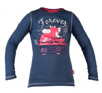 Red Horse long sleeved T-shirt Flash