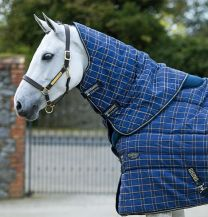Rhino Original Stable Hals Check with Navy and Cream 150g